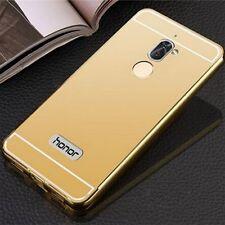 ALUMINIO CARCASA 2 piezas con cubierta oro para Huawei Honor 6x Funda NUEVO