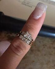 Price Cut! Gold 14K Diamond Ring Size 7 Written Appraisal, Beautiful 4.3g $810