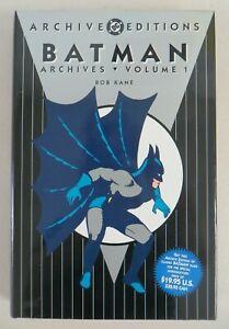 Batman Archives Volume 1 Hardcover Bob Kane Bill Finger Detective #27 DC Comics