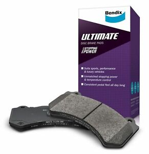 Bendix Ultimate Brake Pad Set Front DB1849 ULT fits Audi A3 1.4 TFSI (8PA) 92...