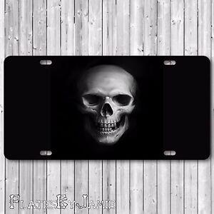 Zombie Walking Dead Evil Weapons Skull Vanity Car /& Truck Tag License Plate