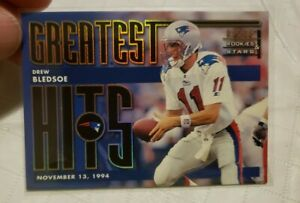 1998 Leaf Rookies & Stars Greatest Hits /2500 Drew Bledsoe #7