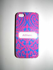 "PERSONALIZED NAME CASE FOR IPHONE 5/5S WITH 2 LAYERS PROTECTIONN ""ALLISON"" NEW"