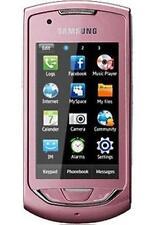 Téléphones mobiles roses Samsung wi-fi