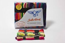 Embroidery Floss 100 Skeins Assorted Colors 8.75 Yards Each perfect for all type