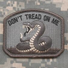 DON'T TREAD ON ME USA TEA PARTY SNAKE ARMY ISAF ACU VELCRO® BRAND FASTENER PATCH