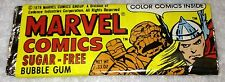 1978 MARVEL COMICS Sugar-Free Bubble Gum Unopened Pack - THE THING
