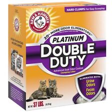 Arm & Hammer Double Duty Clumping Cat Kitty Litter 37-Pounds