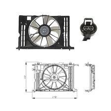 Dual Rad & Cond Fan Assembly Fits: 2009 - 2013 Toyota Corolla -  Matrix L4 1.8L