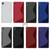S Line Matte Soft Gel TPU Silicon Case Cover Skin For Sony Xperia Z3 D6603 D6633