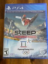 Steep Winter Games Edition Ps4 Sony PlayStation 4 Skiing Snowboarding Olympics