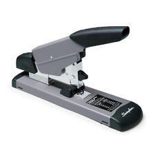 Heavy Duty Stapler 160 Sheets Capacity Desktop Manual Black Gray S7039005