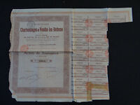 ACTION Charbonnages de France VEZIN-LEZ-BETHUNES 1924 french bond stock share