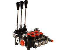 3 spool hydraulic directional control valve 21gpm, double acting cylinder spool