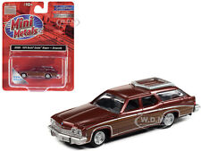 1974 BUICK ESTATE WAGON BURGUNDY MET. 1/87 (HO) CAR BY CLASSIC METAL WORKS 30588