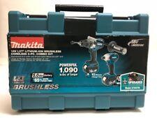Makita XT252TB 18V Lithium Ion Cordless Hammer Drill Driver & Impact Drill Kit