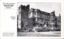 Caverswall Castle, Stoke on Trent. Holy Ghost Convent.