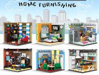 DIY Mini Sweet Home Furnishing Toy Building Blocks Bricks Model Action Figure