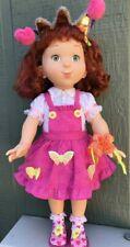 Adorable Fancy Nancy Doll 2008 Jakks All Original Dress Shoes Party Hat Ribbons