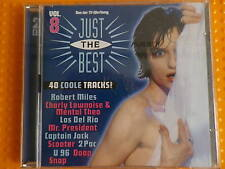 CD 4: CD 1 + CD 2 Just the Best VOL. 8, 40 coole Tracks, s.g.Zust. 1996 PolyGram
