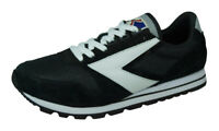 Brooks Chariot Mens Vintage Sneakers Retro Casual Running Shoes Black