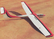 G5S-5 T'TSE II C 2 Meter Sailplane Plans, Templates and Instructions 55ws