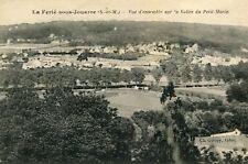 Carte LA FERTE SOUS JOUARRE Vue d'ensemble sur la Vallée du Petit Morin