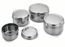 Stainless Steel Food Storage Container - Set of 4