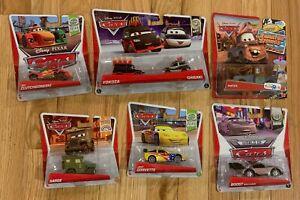 6 Disney pixar Cars Lot Great Cars