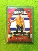DENI AVDIJA RED ICE PRIZM ROOKIE CARD ISRAEL RC WIZARDS SP 2020 GLOBAL PROSPECTS