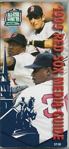 1999 BOSTON RED SOX MLB MEDIA GUIDE VINTAGE FREE SHIPPING