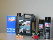 Sistema de mantenimiento YAMAHA mt-03 660 Filtro aceite bujía Servicio