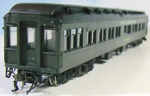 PULLMAN OBSERVATION-SOLARIUM     HO Scale Korean Brass   Painted, W Glazing +++
