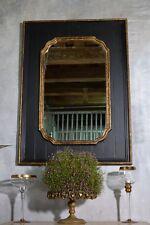 Grosser Wandspiegel Holzrahmen Klassich Glamour Spiegel 109x80 Landhaus Antik