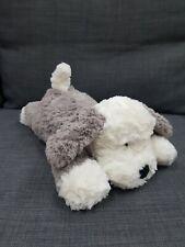 Jellycat Tumblie Sheep Dog Medium 35cm Ultra Soft Plush Grey Cream Toy