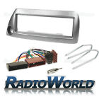 Ford KA MK1 Stereo Radio Fascia Facia Panel Fitting KIT Surround Adaptor Silver