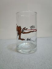 Vintage Arby's B.C. Comic Ice Age Collector Series Glass 1981 Bc Zot Anteater