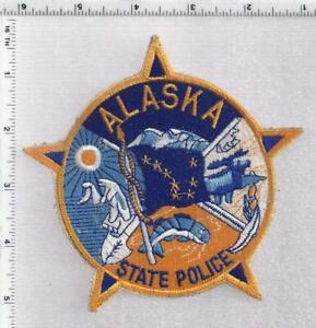 State Police (Alaska) 1st Issue Shoulder Patch (pre-Trooper designation)