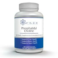 Phosphatidylcholine PC 120 Softgels for Liver and Brain Support (120)