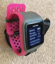 TomTom Run Cycle Swim MULTI SPORT GPS Watch, Large Strap TESTED Ref:61