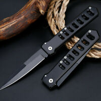 """8"""" Tactical Pocket Folding Survival Outdoor Hunting Military Blade Open Knife"""