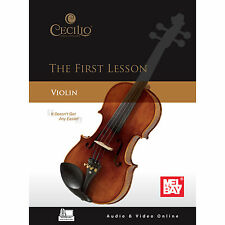First Lessons Violin Book CD DVD Set by Craig Duncan