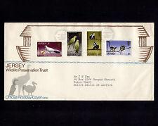 1971 Britain Jersey Wildlife Preservation Trust Fdc