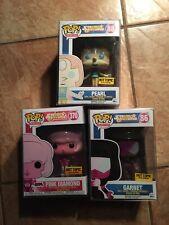 Funko Pop! Animation Steven Universe Pearl, Garnet, Pink Diamond