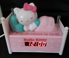 Hello Kitty Digital Alarm Clock Am/Fm Radio. Bed Theme.