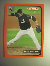 2020 TOPPS TOTAL RED PARALLEL WAVE 7 EVAN MARSHALL #627 - 10/10
