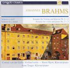 BRAHMS Sonates Pour Violon Et Piano N° 1 à 3 US Press Amado CA 10049 CD