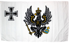 Prussian War Flag 1816 3x5 ft 100D Nylon Prussia Eagle Iron Cross Germany German