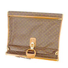 Louis Vuitton Garment bag Monogram Brown Woman unisex Authentic Used T784