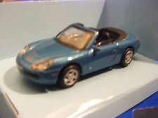 911 Cabriolet Porsche Sports Car Metallic Blue 1-72 Scale Cararama New Boxed